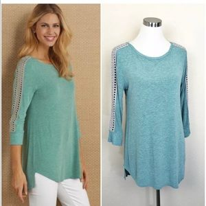 SOFT SURROUNDINGS Women's STeal Cassidie Tunic
